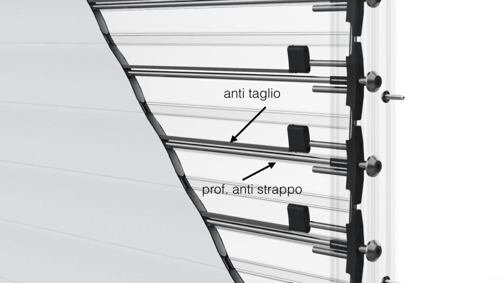 Avvolgibile di sicurezza stecche distanziabili New Solar Secure by Endotek